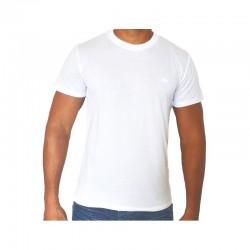 T-shirt LACOSTE uni Blanc