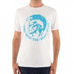 T-shirt DIESEL homme blanc/...