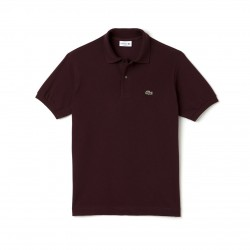 Polo LACOSTE homme Rouge...