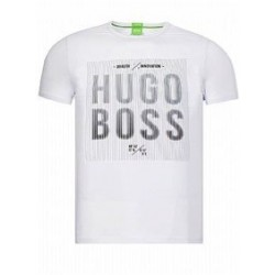T-shirt HUGO BOSS homme Blanc