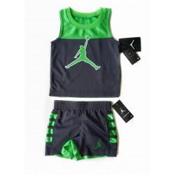 Ensemble Jordan vert garçon...
