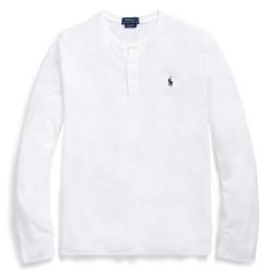 T-shirt Henley Blanc RALPH...