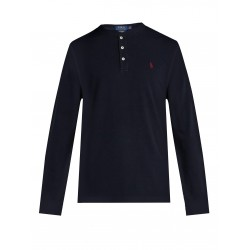 T-shirt Henley Noir RALPH...
