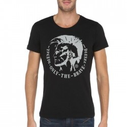 T-shirt DIESEL homme noir