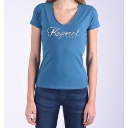 T-shirt Kaporal Bleu Pétrol