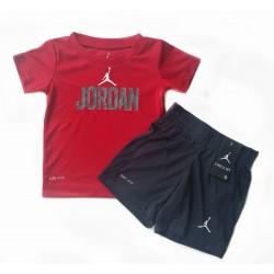 Ensemble Jordan bébé rouge...