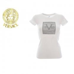 T-shirt Versace Blanc