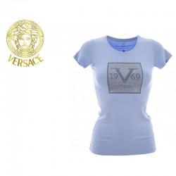 T-shirt Versace bleu