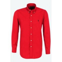 Chemise rouge Ralph Lauren...