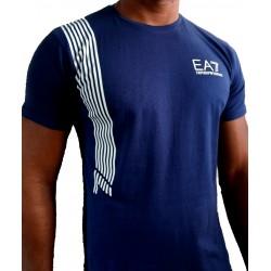 T-shirt EA7 bleu nuit