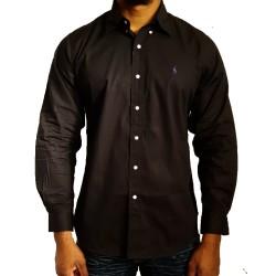Chemise noir Ralph Lauren...