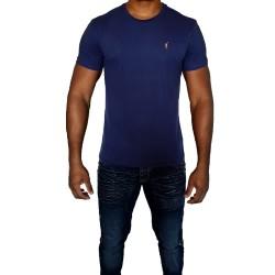 T-shirt R. LAUREN bleu