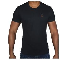 T-shirt R. LAUREN noir