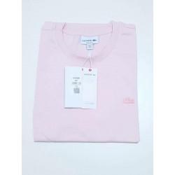 T-shirt LACOSTE uni Rose