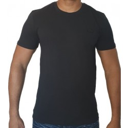 T-shirt LACOSTE uni Noir